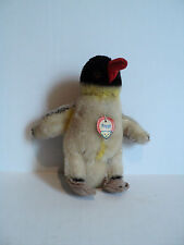 "ADORABLE VINTAGE 1950's STEIFF ""PEGGY"" SMALL MOHAIR PENGUIN with CHEST TAG"