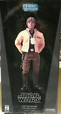 STAR WARS LUKE SKYWALKER REBEL HERO YAVIN 4 SIDESHOW  MIB