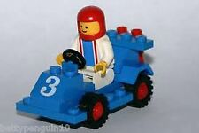 Lego 6605 Town Road Racer - 1 Minifig - Complete