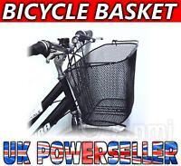 Large Black Mesh Bike Bicycle Front SHOPPING BASKET