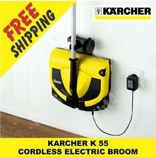 KARCHER K 55  CORDLESS ELECTRIC BROOM / VACUUM