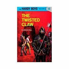 THE HARDY BOYS~THE TWISTED CLAW~BOOK 18~HARDCOVER~BRAND NEW~