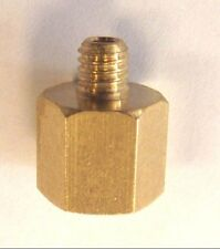 "1/4""BSP FEMALE REDUCER TO 6MM (M6 x 1) MALE ADAPTER / CONVERTER"