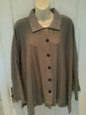 WALL LONDON CHIC ONE SIZE 50% BABY ALPACA LAGANLOOK CARDIGAN GENTLY WORN