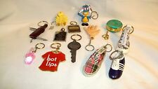 Keychain Lot of 13 Peanut Shoes Chicago Advertising
