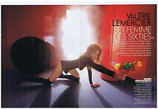 COUPURE DE PRESSE CLIPPING 2009 VALERIE LEMERCIER sex femme des sixties  6 pages