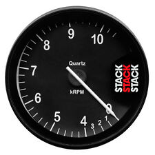 Stack ST200 80mm Clubman Tachometer - Black Dial Face - 0-4-10500 Rpm