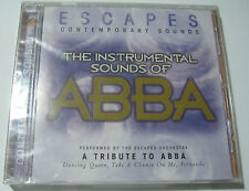 THE INSTRUMENTAL SONGS OF ABBA: A TRIBUTE TO ABBA BY ESCAPES ORCHESTRA CD - NEW