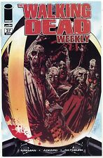 THE WALKING DEAD WEEKLY #27 FIRST GOVERNOR Robert Kirkman Adlard AMC IMAGE NM