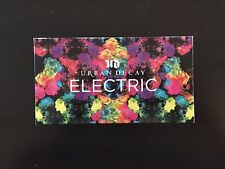 Authentic Urban Decay ELECTRIC Pressed Pigment Eye Shadow Palette