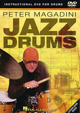 Peter Magadini Jazz Drums Learn to Play Drummer Swing Lesson Music DVD