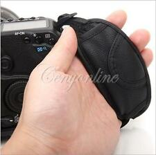 PU Leather Hand Grip Wrist Strap for Nikon D3200 D7000 Canon EOS 650D 5D2 600D