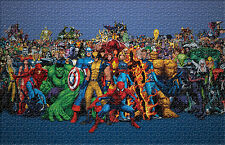 Marvel Super Heroes Comics 1000 Piece Play Jigsaw Puzzle Cartoon Home Decor