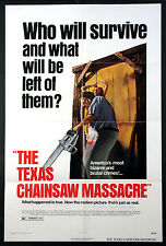 THE TEXAS CHAINSAW MASSACRE SLASHER HORROR SIGNED BY ED NEAL 1974 BRYANSTON 1-SH