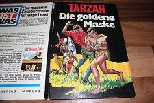 Edgar Rice Burroughs:   TARZAN -- die GOLDENE MASKE // 1970 Illus. Gerd Werner