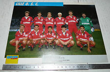 CLIPPING POSTER FOOTBALL 1991-1992 LILLE OSC LOSC DOGUES GRIMONPREZ-JOORIS