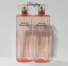 NEW Victoria's Secret Love is Heavenly Body Mist 8.4fl. oz. * e 250ml (Set of 2)