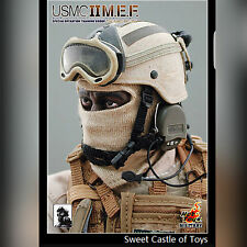 1/6 Hot Toys USMC II M.E.F TAN Spec Ops Training Group SNIPER CIA Ranger PMC UDT