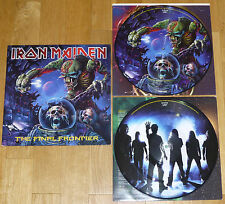 IRON MAIDEN Final Frontier 2x PICTURE DISC LP - 2010 1st PRESS (OOP) metallica