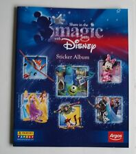 Panini Share In The Magic Disney Panini Album & Complete Full Set Of 84 Stickers