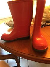 NWOB Gap Kids Red Rain Boots  size 12