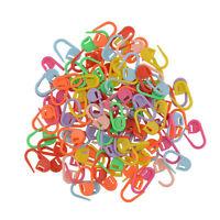 100pcs Colorful Knitting Crochet Craft Stitch Needle Markers Holder Hook