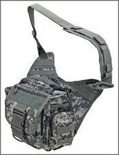 EXTREME TACTICAL MESSENGER BAG - ACU DIGITAL CAMO 1000 DENIER FABRIC MATERIAL