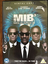 Will Smith Tommy Lee Jones MEN IN BLACK III / 3 ~ 2012 Sci-Fi Comedy | UK DVD