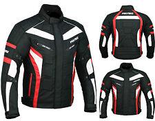 ProFirst Mens Waterproof Genuine Motorbike Motorcycle Cordura Jacket CE Armoured