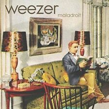 Maladroit CD by Weezer 2002 enhanced 13 songs & 7 videos power chord-driven emo