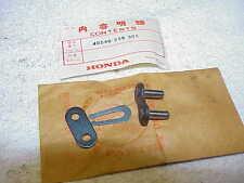 HONDA ,GENUINE NOS OEM ,MT250 ,MR250  MASTER LINK  40540-358-305, CR,MT,MR,
