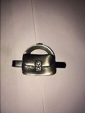 PURSE DR40 Fine English Modern Pewter on a Tie Clip (slide)