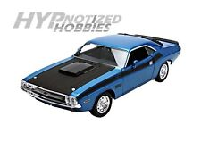 WELLY 1:24 1970 DODGE CHALLENGER T/A DIE-CAST BLUE 24029