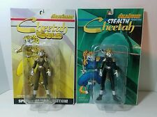 Warrior Nun Areala Cheetah Gold and Stealth Variant Action Figure Lot MOC 1998