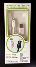 Charge/Sync Cable with LED Lightning Connector / GCE i5 LED Lightning Cable NEW