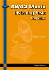 AS/A2 Music Listening Tests - 2nd Edition by Philip Taylor (AQA) BRAND-NEW