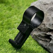 "Flashlight Light Laser Picatinny Side Rail Mount Scope Mounts 1"" Offset Ring"