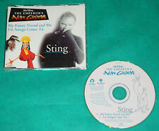 Sting - My Funny Friend And Me BRAZIL ONLY PROMO CD 2000 Disney The Emperor´s