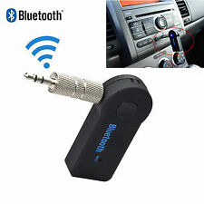 3.5mm Aux Stereo Wireless Mini Bluetooth Music Audio Stereo Adapter Receiver DE