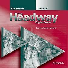Oxford NEW HEADWAY Elementary Class Audio CDs | Liz & John Soars @NEW & SEALED@