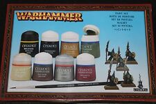 Games Workshop Warhammer 40k Citadel Paints Set Devlan Mud Night Goblins NIB New