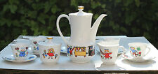 Kindergeschirr Kinderservice Seltmann Weiden 60er 70er 70s children tableware