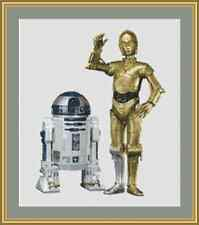 Star Wars R2D2 And C3PO Cross Stitch Kit