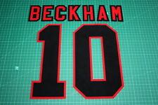 Manchester United 96/97 #10 BECKHAM AwayKit Nameset Printing