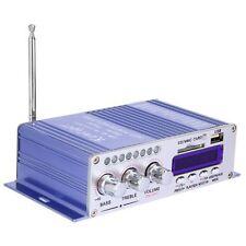 HiFi Coche Casa 2-CH USB FM Audio Amplificador FM Radio MP3 DVD Remoto