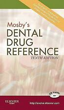 Mosby's Dental Drug Reference-ExLibrary