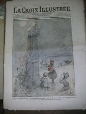 La croix illustrée N° 222 1905 Petits bretons priant pour le retour de leur père