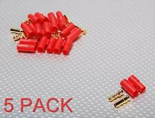 3.5mm Shrouded Bullet Connectors (Superior) 5 Pack 80A