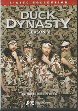 DUCK DYNASTY SEASON 3 DVD 2 DISC BRAND NEW SEALED