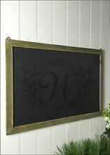 Chalk Board Blackboard Wall Vintage Shabby Chic Message kitchen Notice Rustic